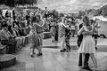 Dancing on the Quai print