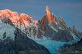Cerro Torre Alpenflow print