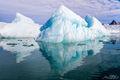 Ice Pyramids print