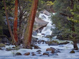 California, North America, United States, Yosemite, river, water