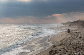 beach, waves, surfer, Cisco beach, Nantucket