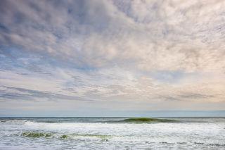 ocean, water, clouds, beach