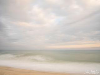 ocean, fall, sky, clouds, seascape