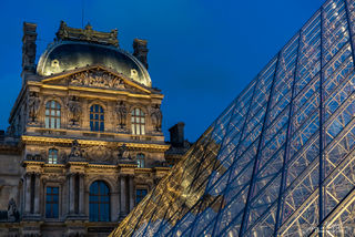 Windows of the Louvre