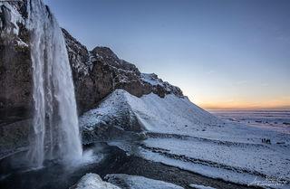 Seljalandsfoss, waterfall, Iceland