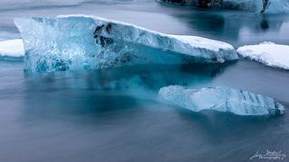 Ice, sculpture,  Jokulsarlon, glacial lagoon, Iceland
