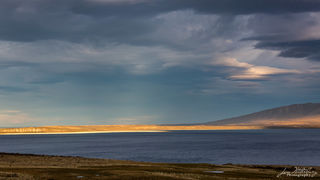 sun, lenticular clouds, storm clouds, Torres del Paine, Patagonia