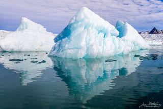 ice, iceberg, glacier, Spitsbergen, Svalbard, fjord