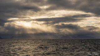 storm, clouds, mountains, Spitsbergen, Svalbard