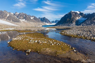Arctic, Europe, Norway, Svalbard, Magdalene fjord, glacier