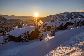 ski, snow, Moonlight Basin, Big Sky Resort, Montana