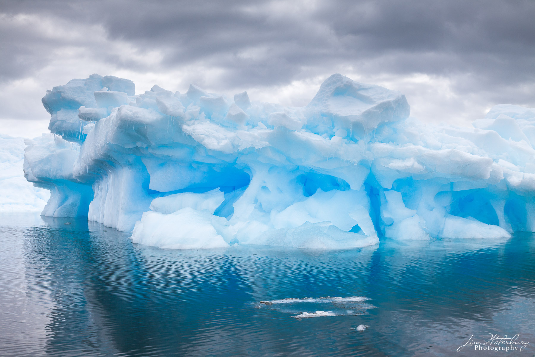 iceberg, Antarctica, blue, Lemaire Channel, photo