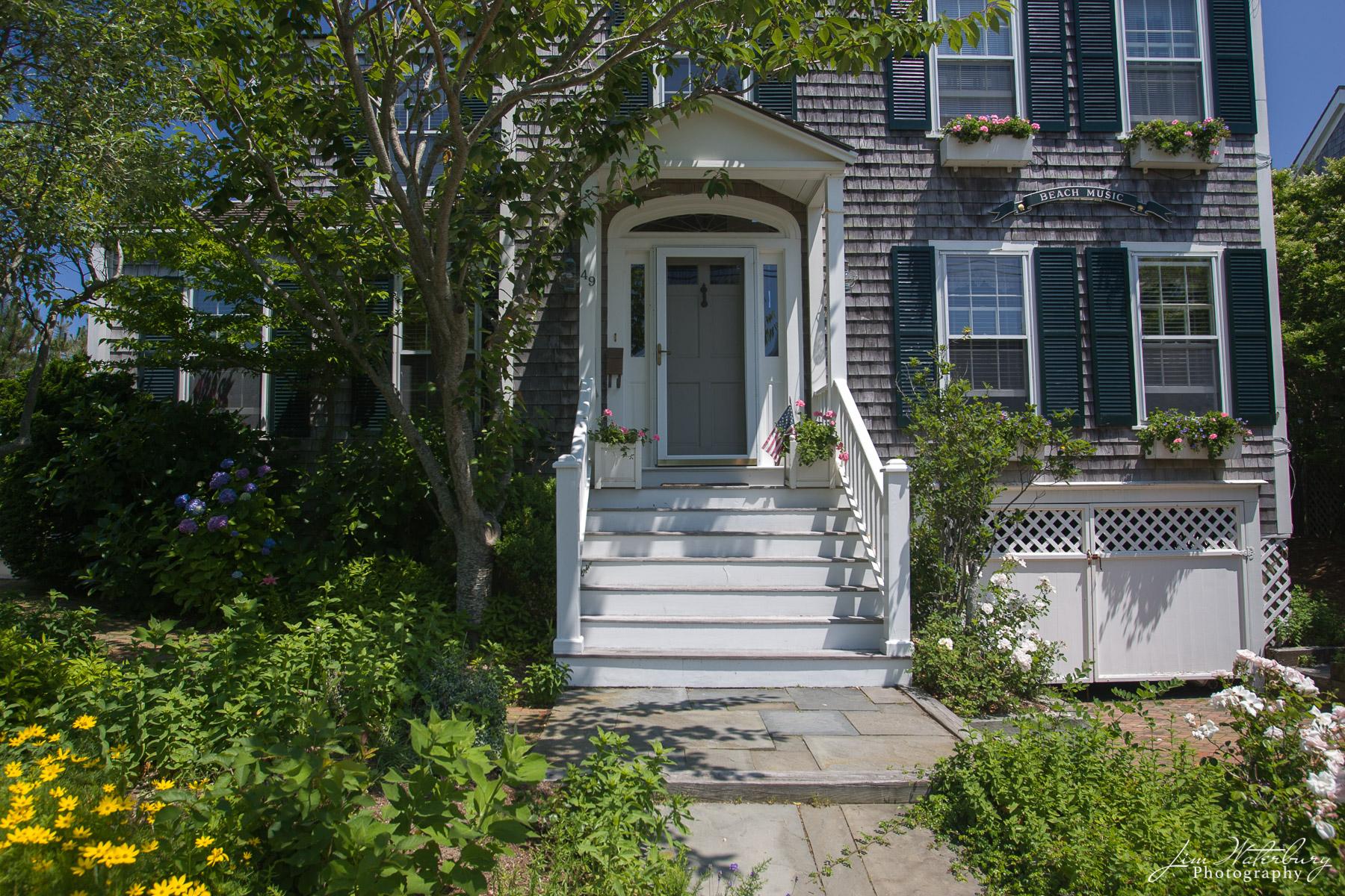 Nantucket, house, gray shingles, photo