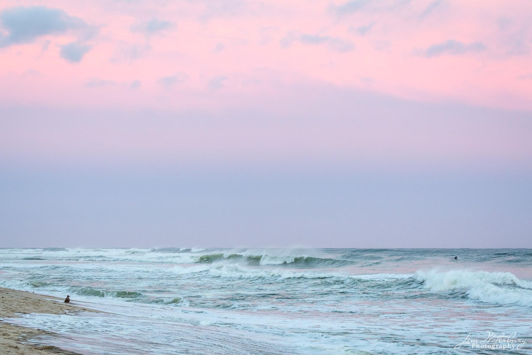 beach, wave, pastel, sky, ocean, surf, photo