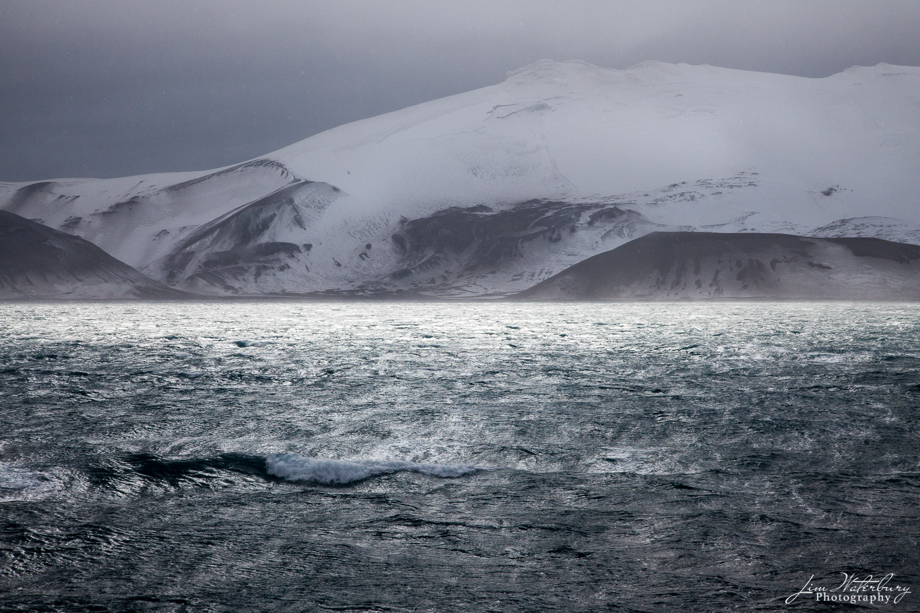 Antarctica, storm, seas, Deception Island , photo
