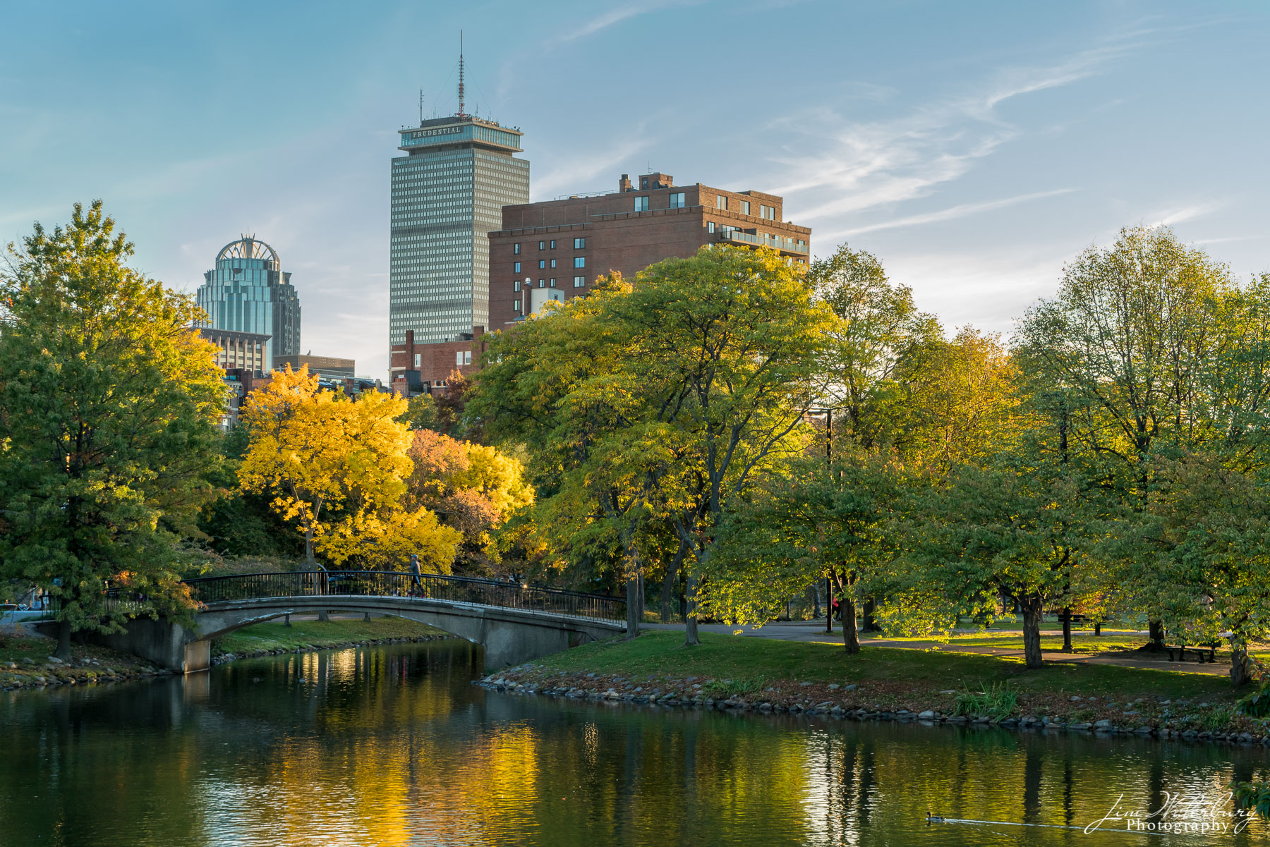 fall, Boston, Charles River, Prudential Center, Massachusetts, photo