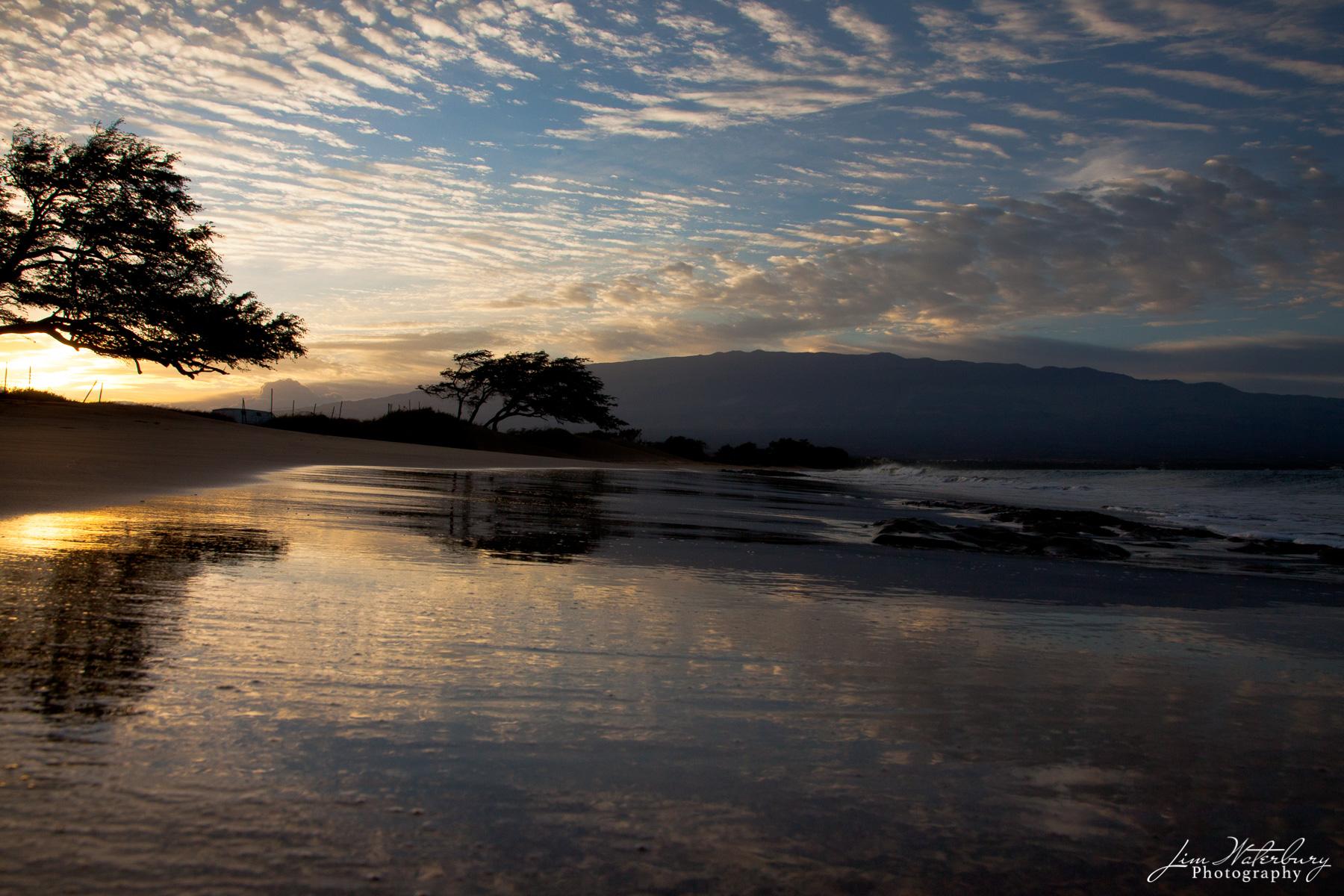 dawn, Maui, sunrise, bay, photo
