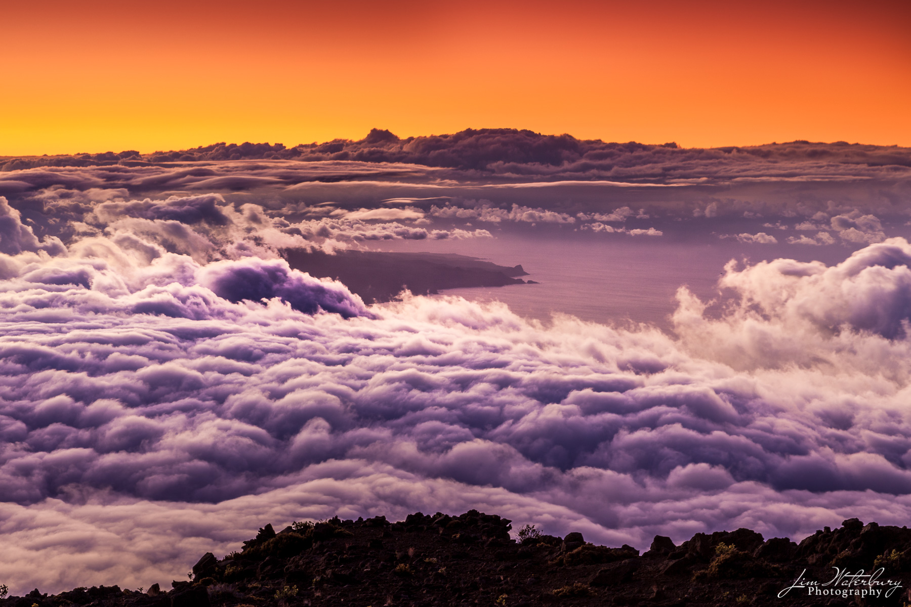 Hawaii, Maui, sunset view, Haleakala, photo