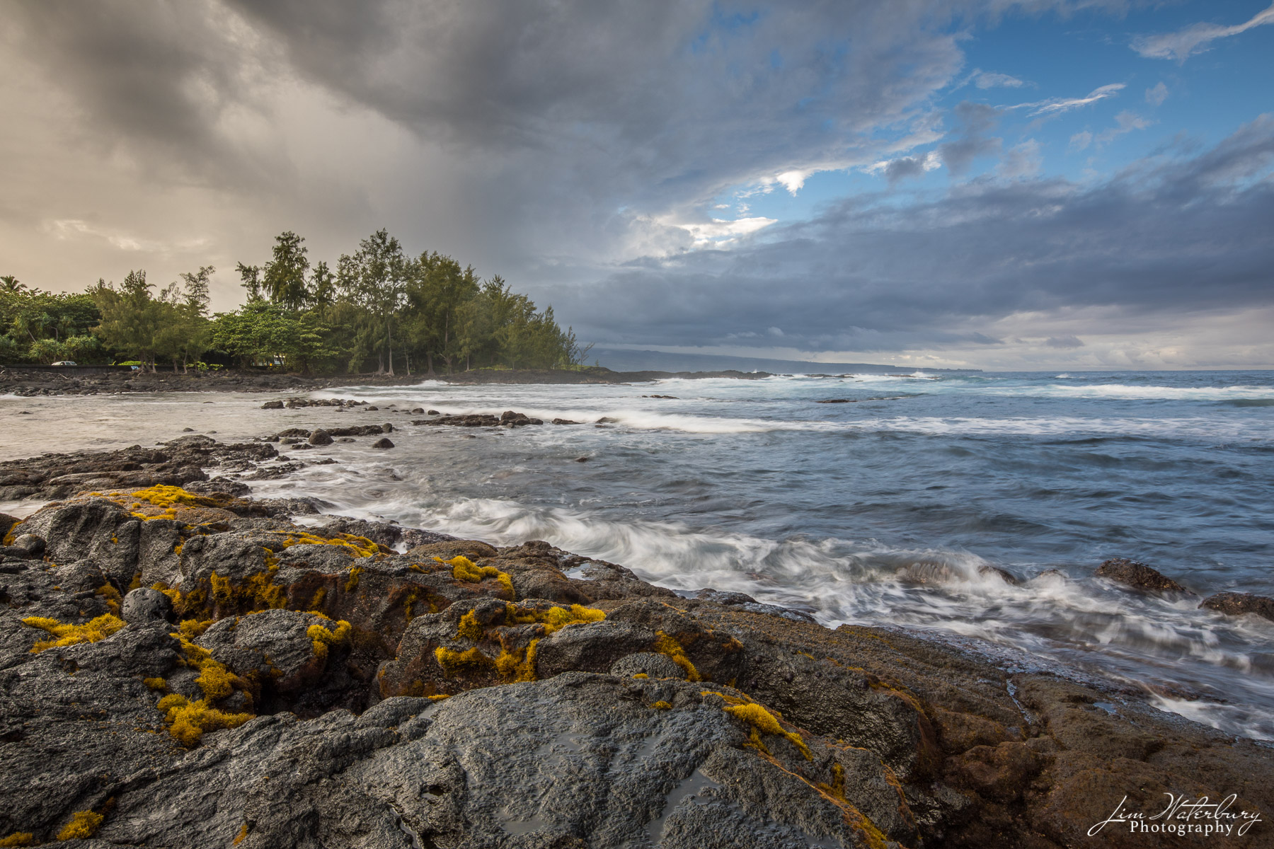 surf, rocky shore, landscape, photo