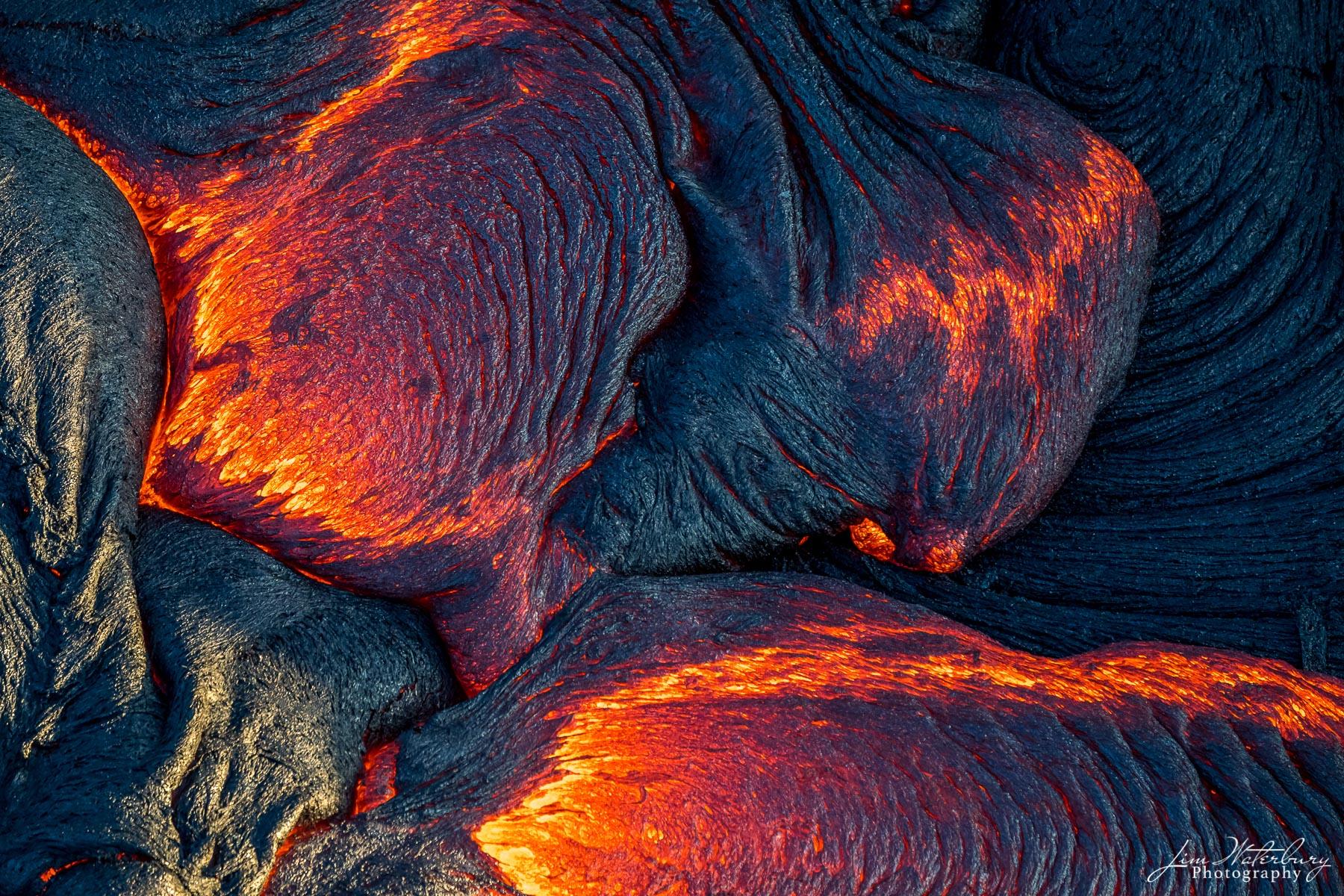 lava, Kilauea, volcano, Big Island, Hawaii, photo