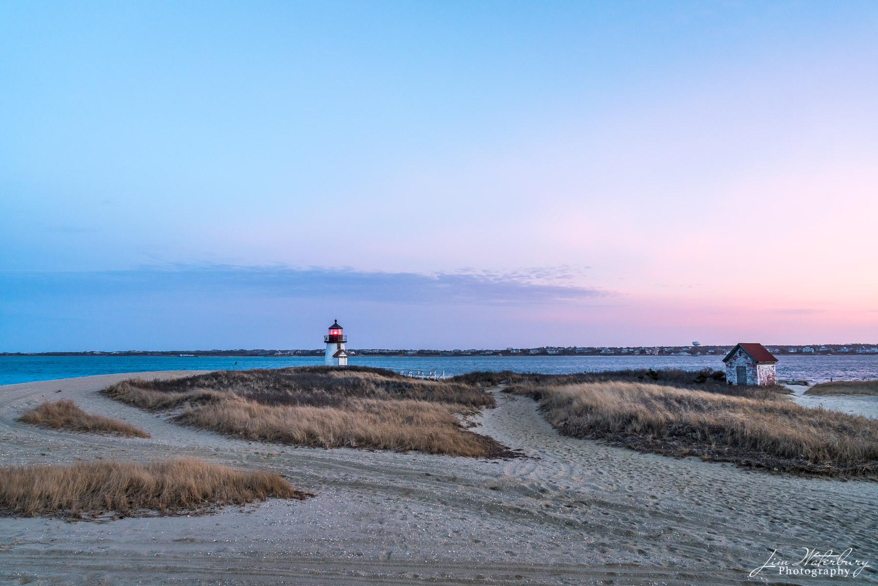 Brant Point, lighthouse, Nantucket, sunrise, photo