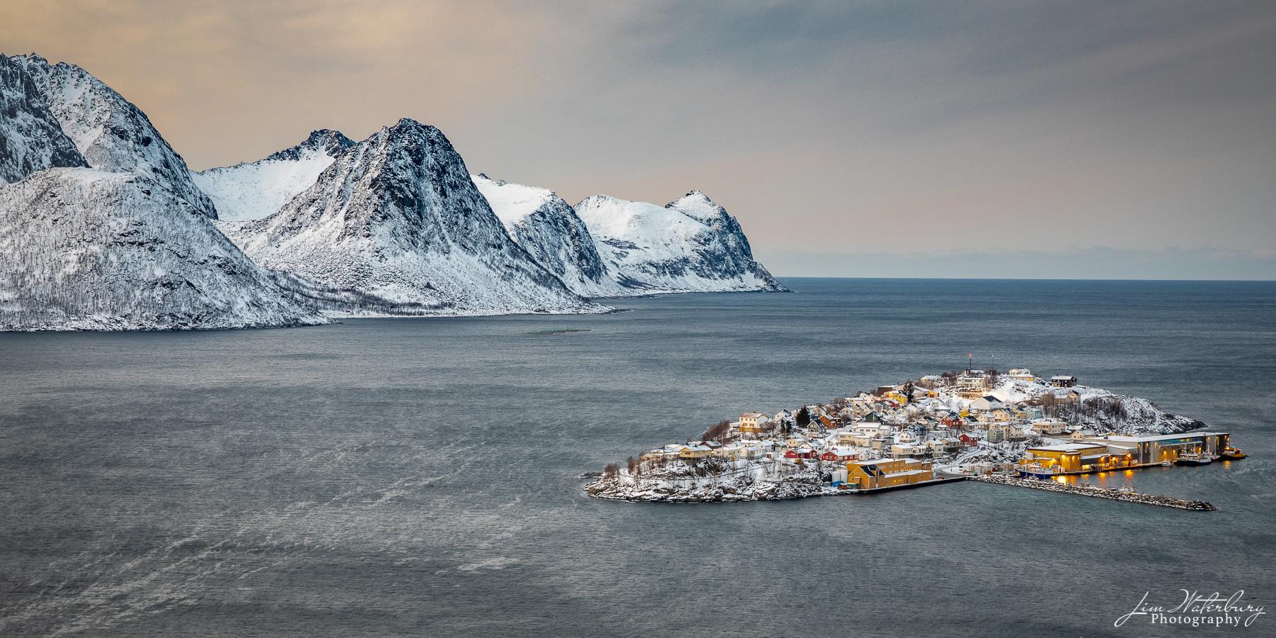 Husoy, Senja, Norway, Lofoten Islands, fishing village, photo