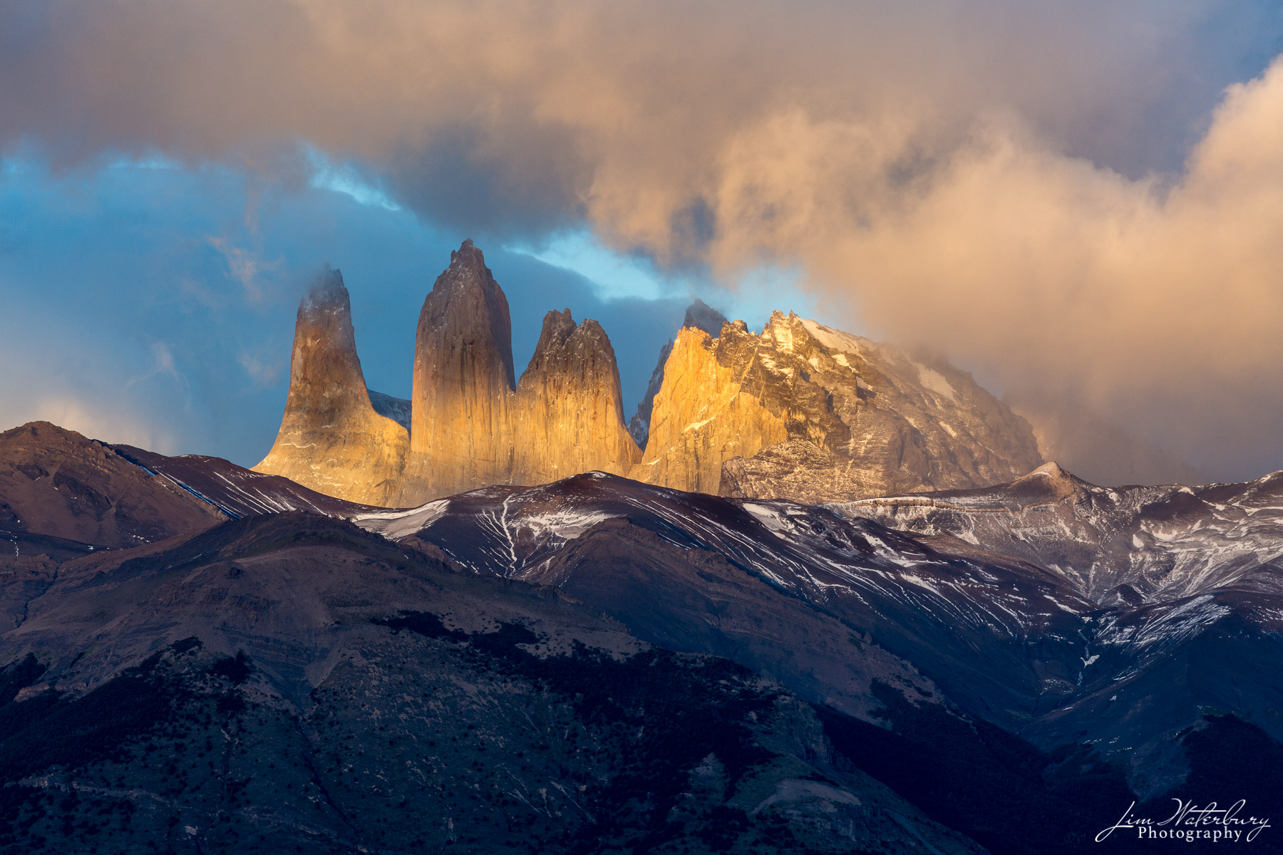 towers, Torres del Paine, Chile, photo