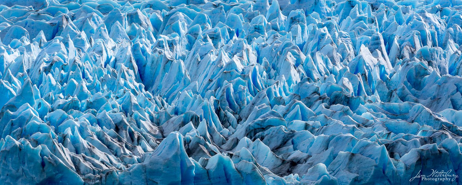 Grey Glacier, Torres del Paine NP, Patagonia.
