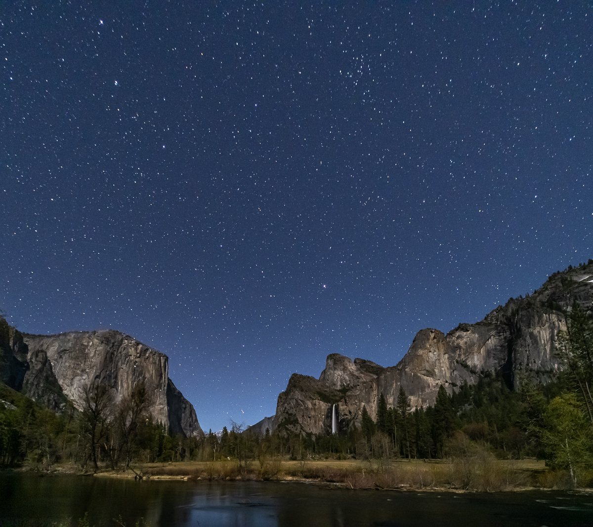 Night sky from Valley View